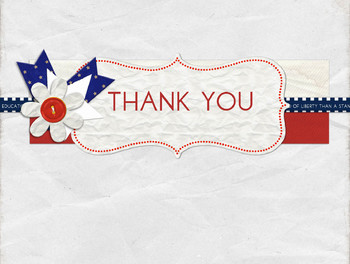 Free Thank You Post Card