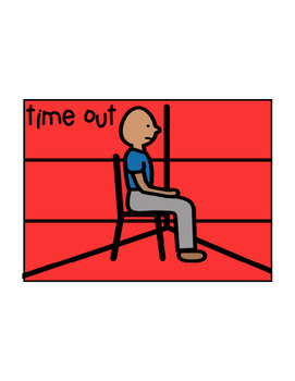 Free Time Out Visual for Special Education