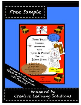 Free Trial Activity-Pirate Paul's Adventures with Ratio & Percent