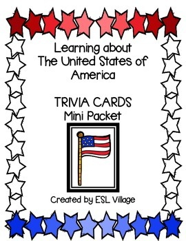 USA Trivia Cards (Fourth of July)