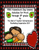 Free Valentine's Day Lessons By The Best of Teacher Entrep