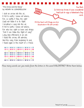 Free! Valentine's day printable from Packet (see link in d