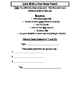 Free Verse Poetry Tools Reference Sheet