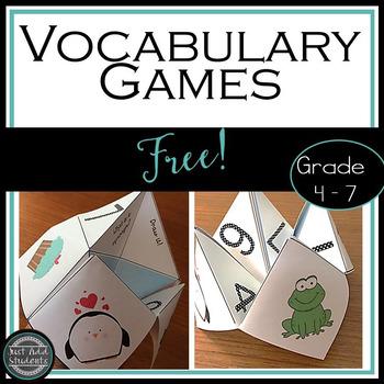 Free Vocabulary Games