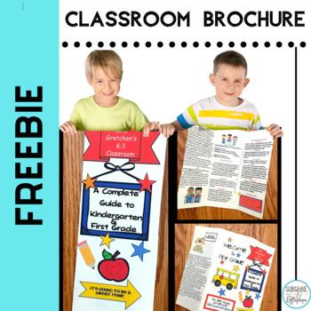 Freebie Welcome Back to School Brochure Editable PPX