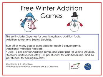 Free Winter Addition Games