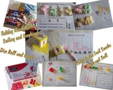 Free Winter & Gingerbread Dice And Graphing Resources Math
