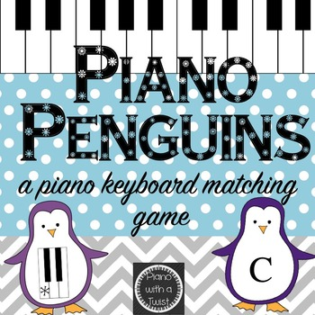 Winter Music Game: Piano Keyboard Penguins