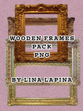 Free Wooden Frames Clipart - Commercial & Personal Use