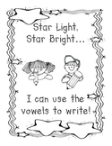 Free Word Stretching with Vowels - A Writing Journal