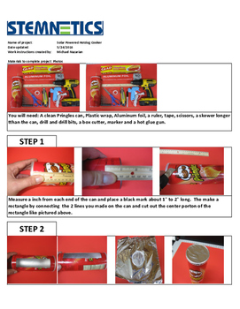 Free Work Instructions to build your own hotdog cooker!