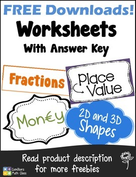 Free Worksheets with Answer Keys