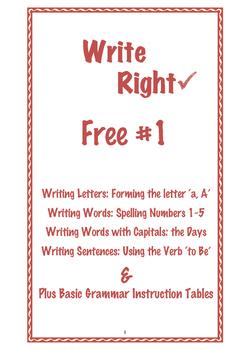 Free Write Right 1