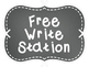 Free Write Station