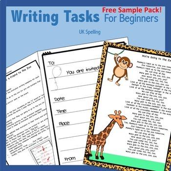 Free Writing Activities for Beginners AUS UK