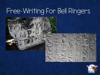 Free-Writing for Bell Ringers