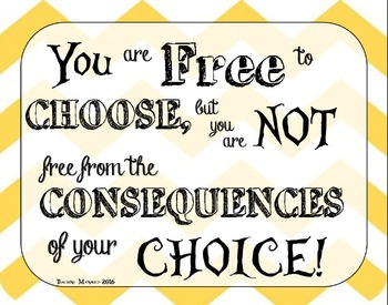 Free to Choose Inspirational Poster