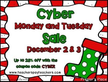 Freebie 2013 TPT Cyber Monday Promo Button