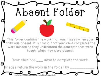 {Freebie} Absent Folder