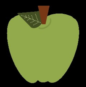 Freebie Apples and Caramel Apples Clip Art