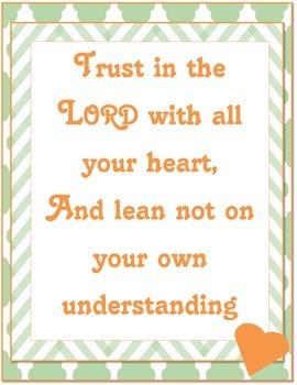 {Freebie} Bible Verse Poster- Doubt