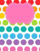 Freebie: Binder covers in Rainbow Fun