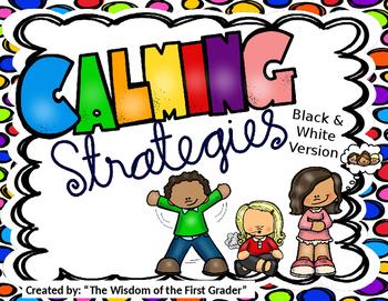 Freebie: Calming Strategies for Kids