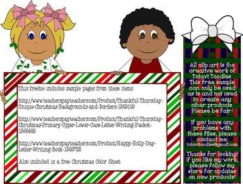 Freebie * Christmas Gifts to YOU!!