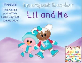 Freebie Cute Emergent Reader - Winter