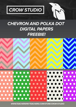 Freebie Digital Papers for TPT Sellers