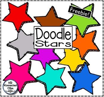 Freebie! Doodle Stars