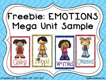 Freebie EMOTIONS Mega Unit Sample