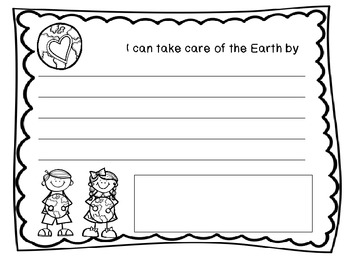 Freebie Earth Day Page
