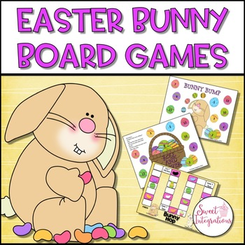 **Freebie** Easter Board Games
