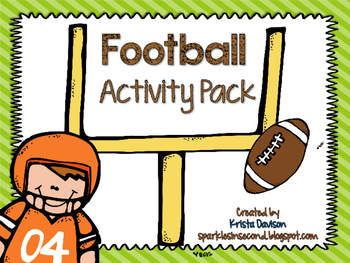 Freebie Football Activity Pack