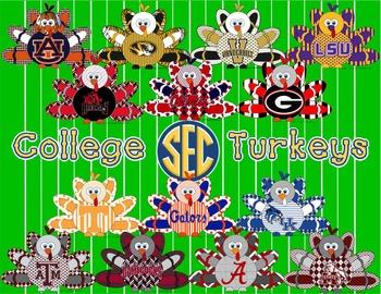 SEC * Football Turkeys * College