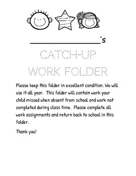 Freebie Form Envelope and Catch Up Folder Covers