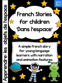 Freebie French Story and Video: Dans l'espace