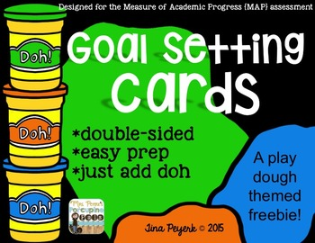 {Freebie} Goal Setting Cards for MAP Assessment