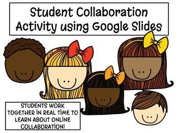 Freebie! Google Slides Collaboration Template - Back to Sc