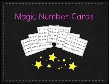 Freebie: Magic Number Cards