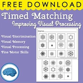 Freebie - Matching Puzzle Visual Discrimination for Spec.