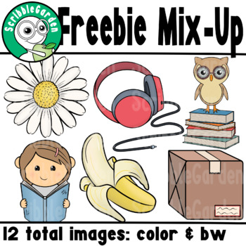 Freebie Mix Up ClipArt