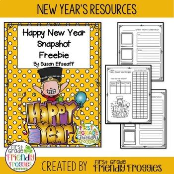 Freebie - New Year's Celebration Snapshot