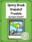 Freebie - Spring Break Snapshot