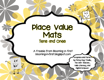 Freebie Place Value Mats