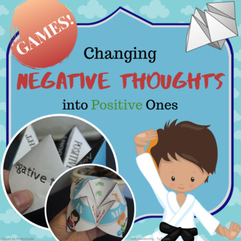 Printable Games - Changing Negative Thoughts