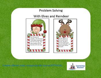 Freebie Problem Solving With Elves and Reindeer