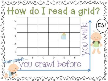 Freebie Reading Grids Poster - You Crawl Before You Walk
