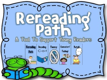 Freebie  Rereading Path {A Tool For Young Readers}